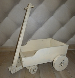 Antiek bolderwagentje