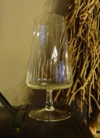 Vintage wijnglas