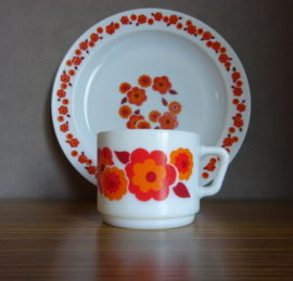 """Arcopal Lotus tas """"Oranje/rood"""""""