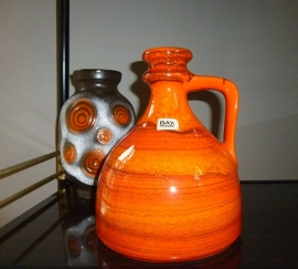 Bay oranje vaas