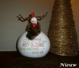 Kip kerst rendier groot