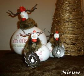 Kip kerst rendier klein