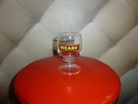 Ricard glas: Rd/Bl/G