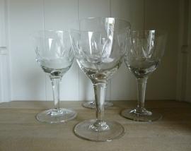 Antiek wijnglas