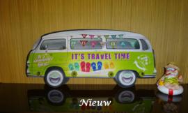 Kapstok minibus groen