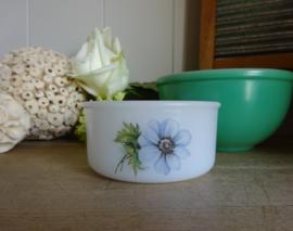 Arcopal potje blauw bloempje