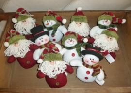 Set sneeuwmannetjes