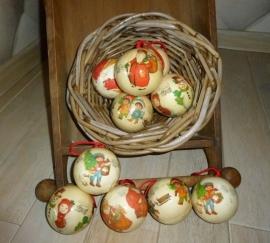 Set onbreekbare kerstballen