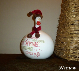 Kip kerst muts groot