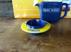 Ronde asbak Ricard