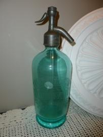 Antieke soda fles