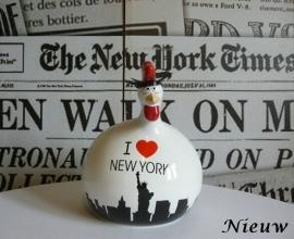 Kip New York groot