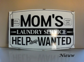 "Bord ""Mom's laundry service"""