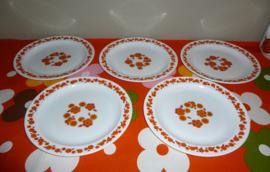 Platte borden Arcopal Lotus