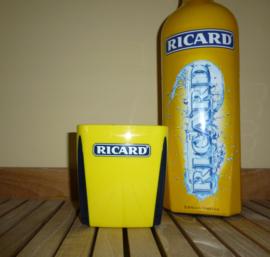 Ijsblokhouder geel/blauw
