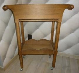 Antieke houten trolley