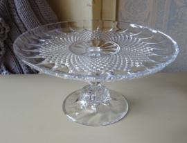 Taartschaal Cristal d'Arques Longchamp