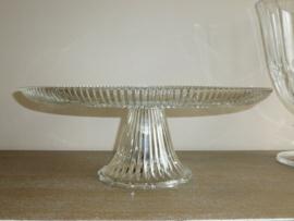 Glazen taartschotel