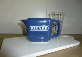 Blauw karafje Ricard