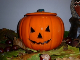 Halloween pompoen