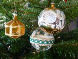 Antieke kerstballen