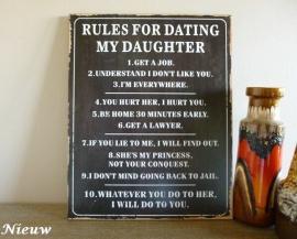 Plakkaat Daughter