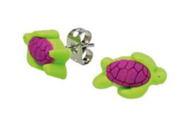 Oorbellen Schildpad