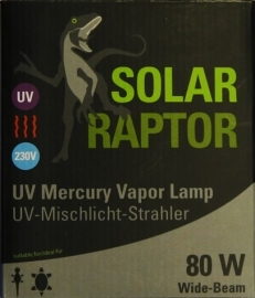 Solar Raptor UV Mercury Vapor Lamp 80W