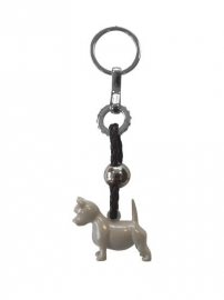 Happy House Sleutelhanger Terrier Taupe