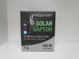 Solar Raptor UV Mercury Vapor Lamp 100W