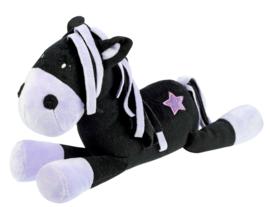 """Knuffel Paard """"Black Star"""""""