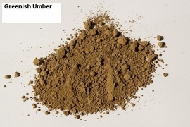 Pigment Greenish Umber