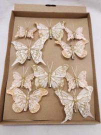 Decoratie vlinders en vogels