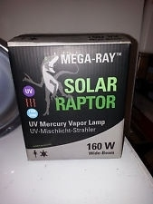 Solar Raptor UV Mercury Vapor Lamp 160W