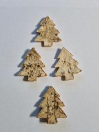 Berken kerstboompjes - 72 stuks