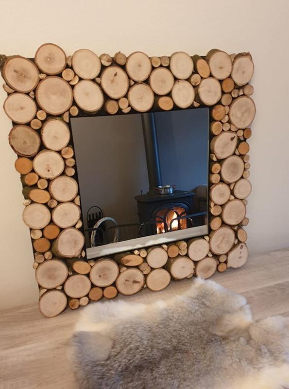 Spiegel Boomstammen 52 x 52