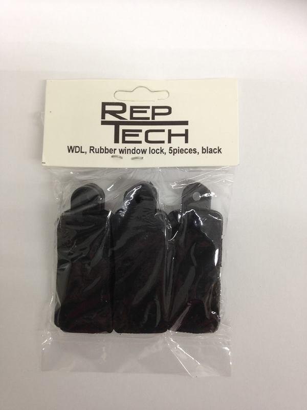 Reptech Rubber Window Lock 5 Stuks