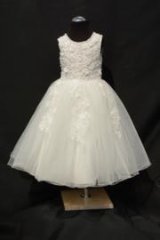 Ivoorwitte jurk Mireille
