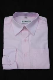 Overhemd licht roze