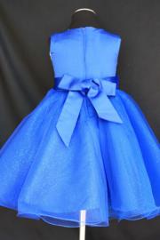 Jurk Charlotte koningsblauw