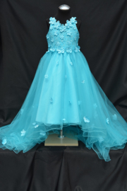 Turquoise jurk Adele