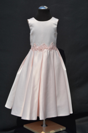 Jurk Liselotte blush/roze