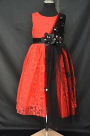Rood/zwarte Flower
