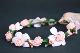 Bloemenkrans Rosa blush