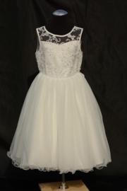 Ivoorwitte jurk Estelle