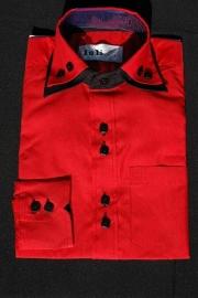 Italiaans overhemd rood