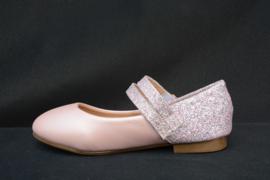 Lichtroze  parelmoer glitterballerina