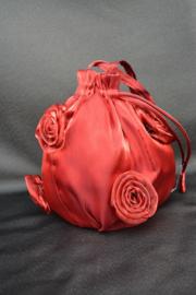 Bloemenzakje rood