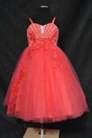 Koraal jurk Cinderella