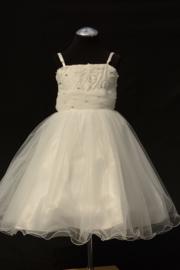 Ivoorwitte jurk Franciss